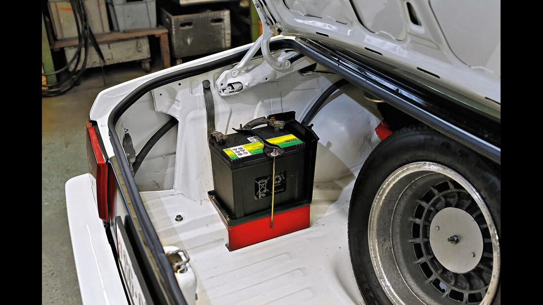 Mitsubishi Lancer 2000 Turbo ECI, Batterie