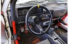 Mitsubishi Lancer 2000 Turbo ECI, Cockpit, Lenkrad