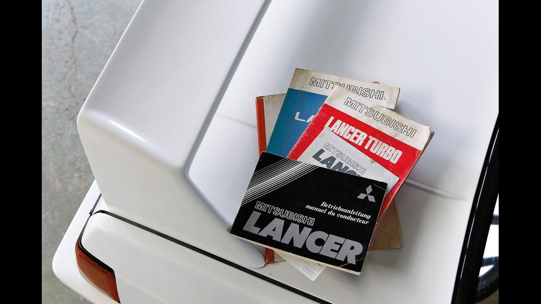 Mitsubishi Lancer 2000 Turbo ECI, Handbücher