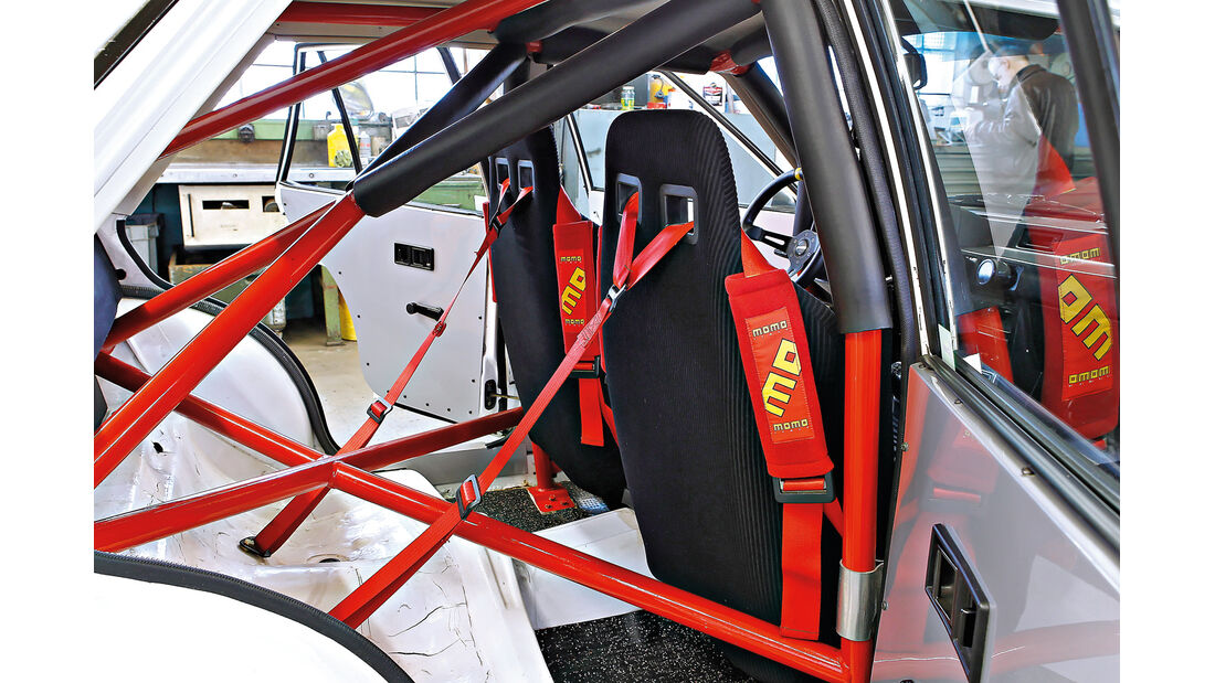 Mitsubishi Lancer 2000 Turbo ECI, Heigo-Überrollkäfig