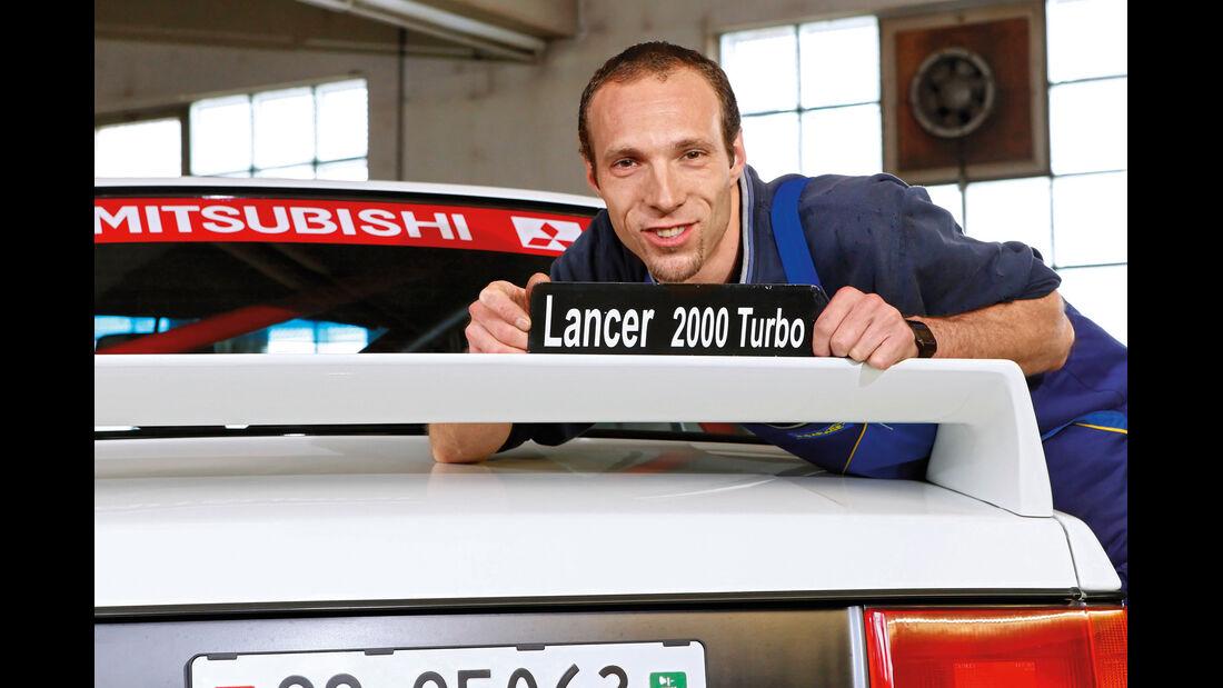 Mitsubishi Lancer 2000 Turbo ECI, Werner Blöchlinger