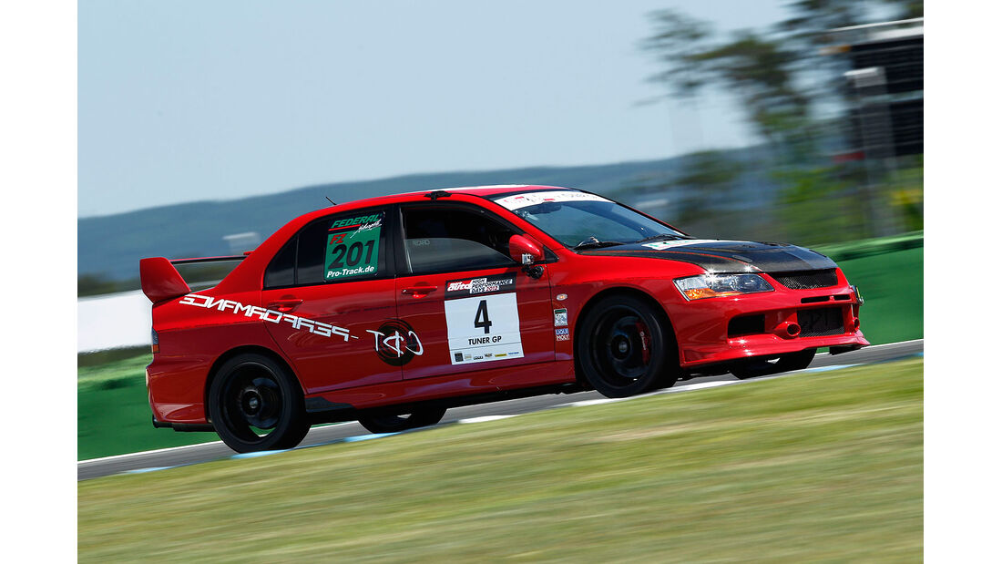 Mitsubishi Lancer Evo IX, TunerGP 2012, High Performance Days 2012, Hockenheimring