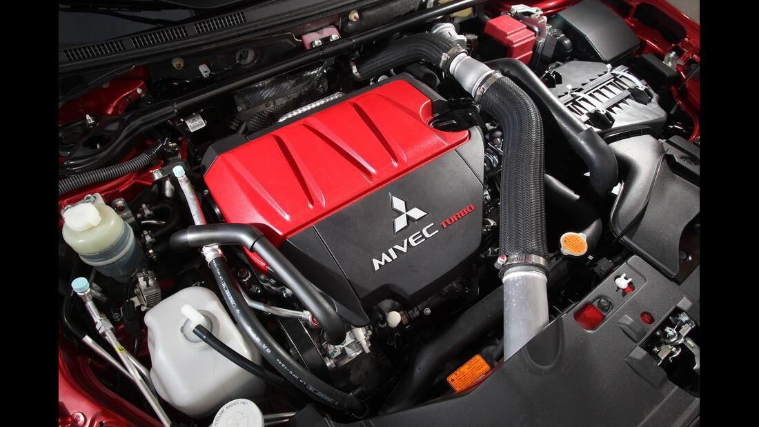 Mitsubishi Lancer Evo, Motor