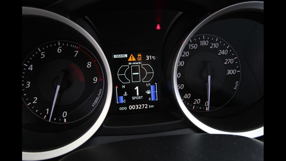 Mitsubishi Lancer Evo, Rundinstrumente
