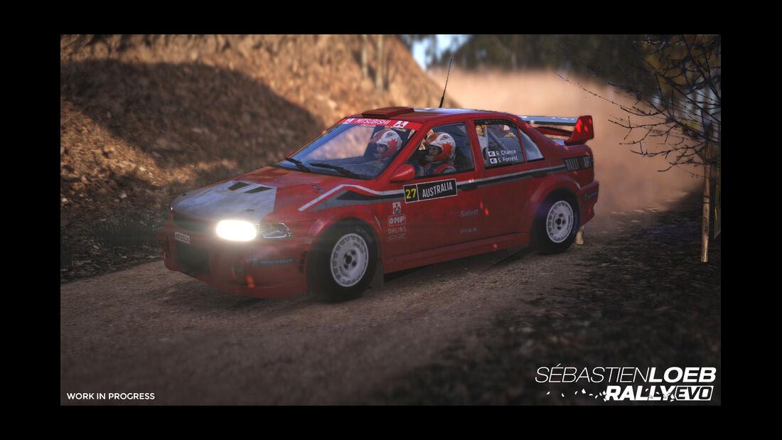 Mitsubishi Lancer Evo - Screenshot - Sebastien Loeb Rally Evo