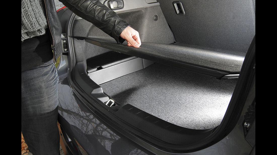 Mitsubishi Lancer Sportback 1.6 XTRA, Kofferraum