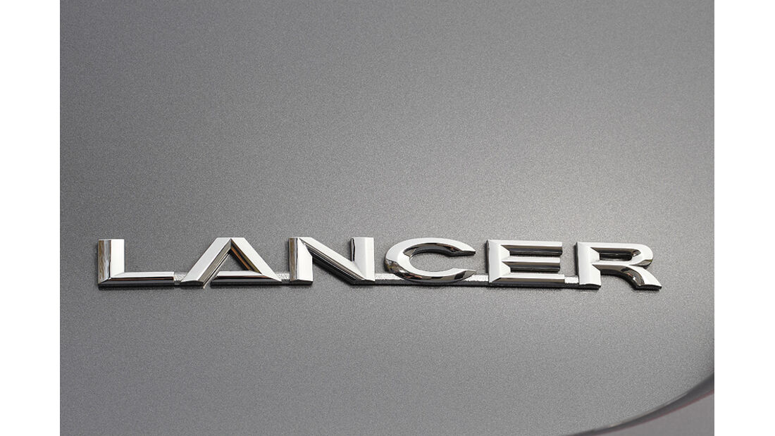 Mitsubishi Lancer Sportback 1.6 XTRA, Schriftzug