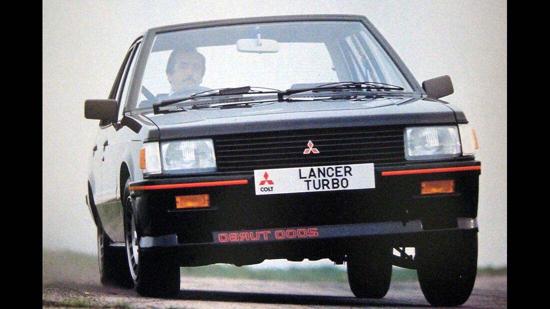 Mitsubishi Lancer Turbo, Seitenansicht