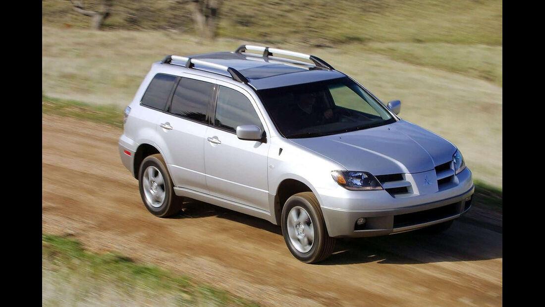 Mitsubishi Outlander 2.0 4WD, Frontansicht