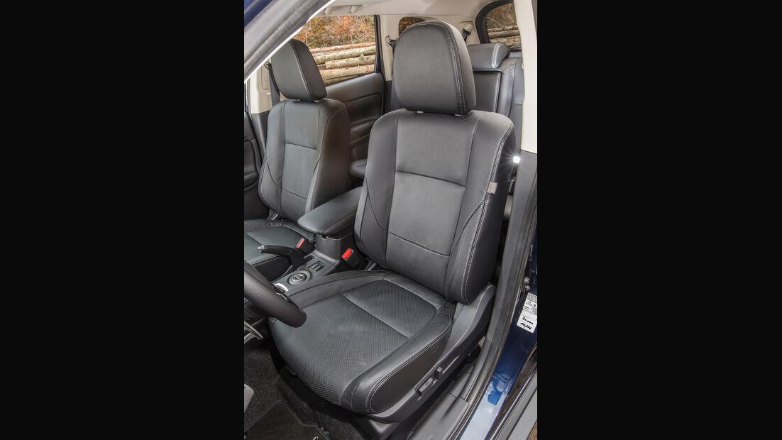 Mitsubishi Outlander 2.2 Di-D 4WD, Fahrersitz