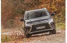 Mitsubishi Outlander 2.2 Di-D 4WD, Frontansicht
