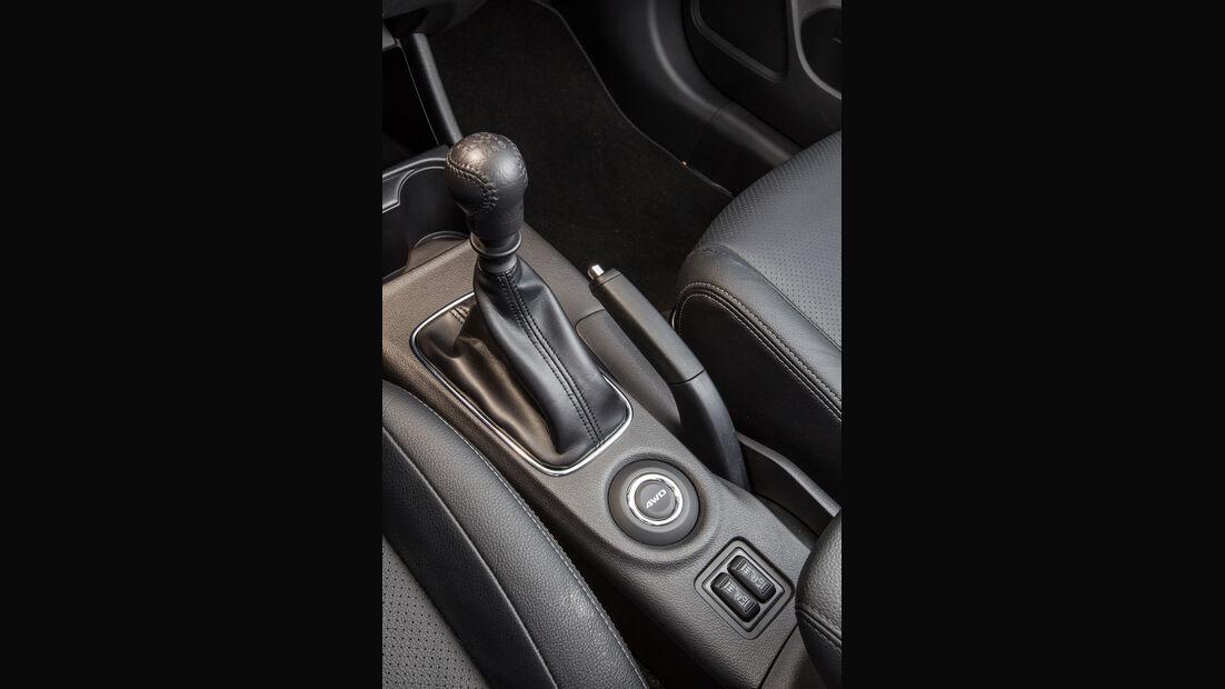 Mitsubishi Outlander 2.2 Di-D 4WD Instyle, Schalthebel, Schaltknauf