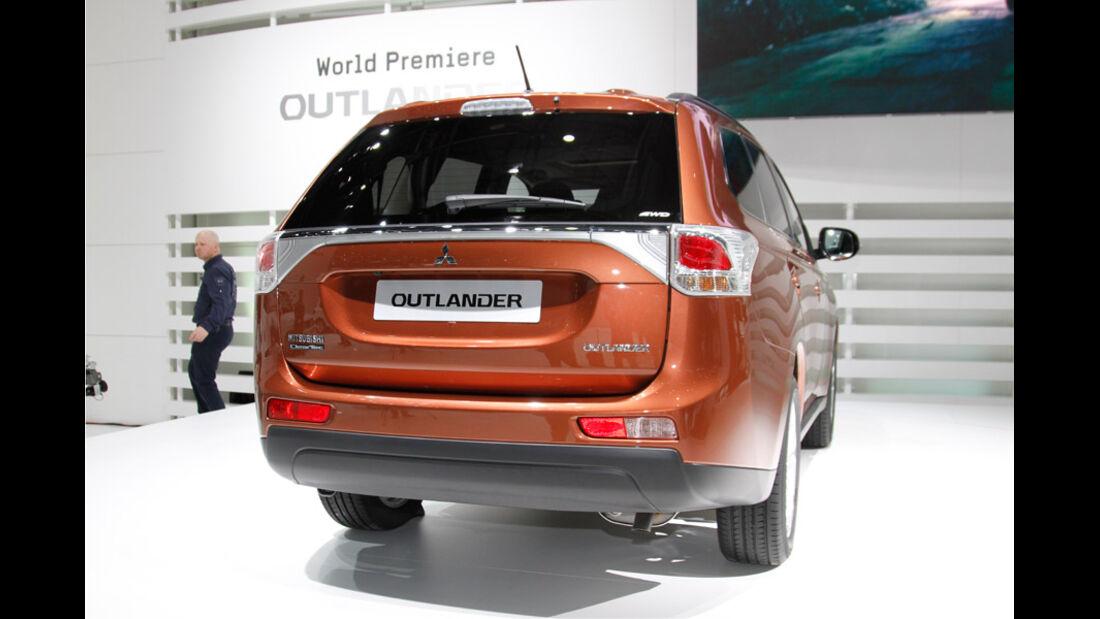 Mitsubishi Outlander, Autosalon Genf 2012, Messe