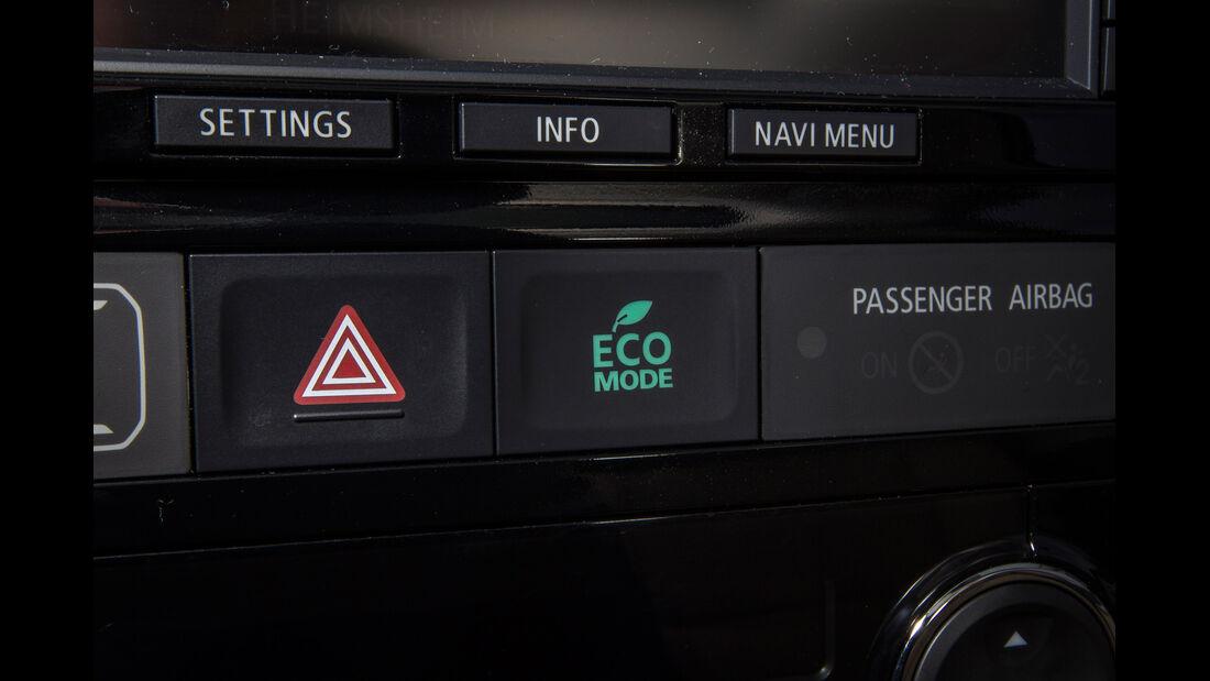 Mitsubishi Outlander, Eco-Mode, Bedienelement