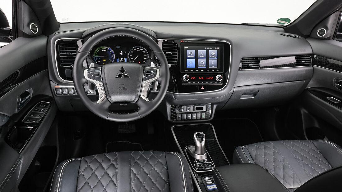 Mitsubishi Outlander, Interieur
