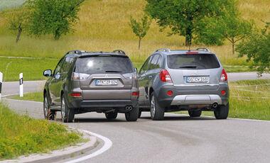 Mitsubishi Outlander, Opel Antara