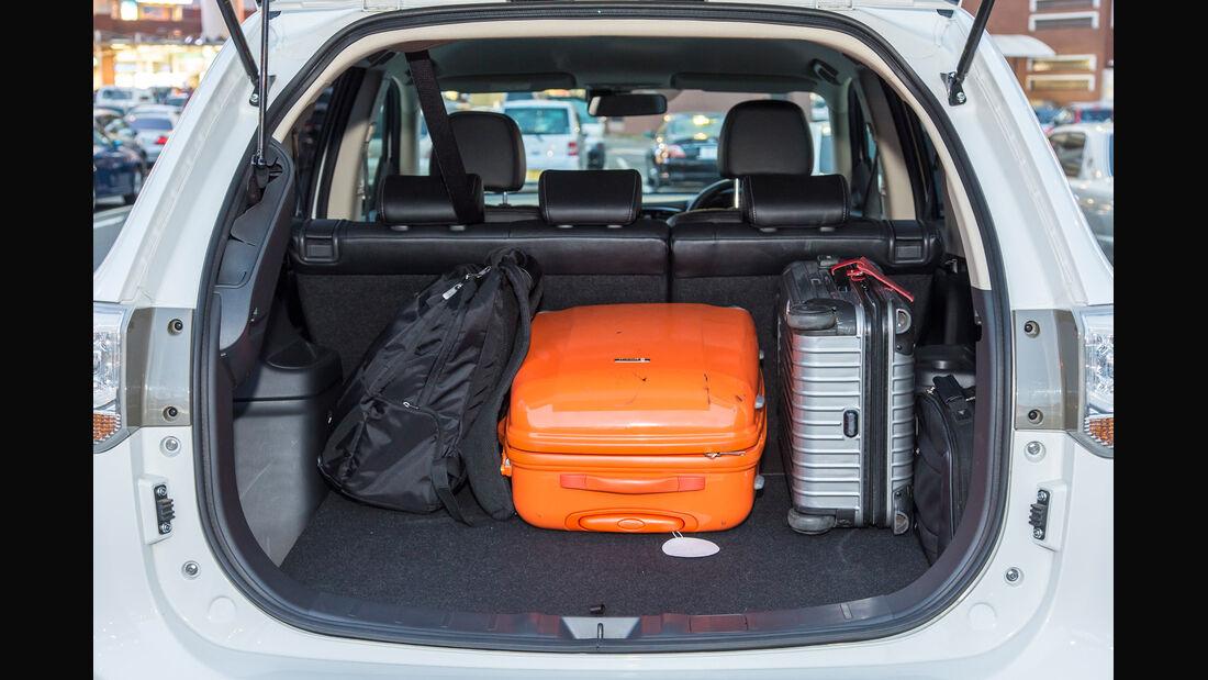 Mitsubishi Outlander PHEV, Kofferraum