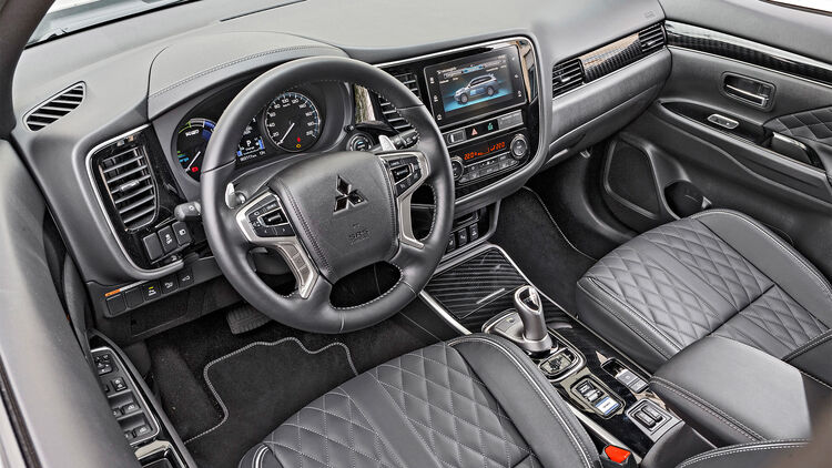Mitsubishi Outlander Phev Plug In Hybrid Im Test Auto Motor Und Sport