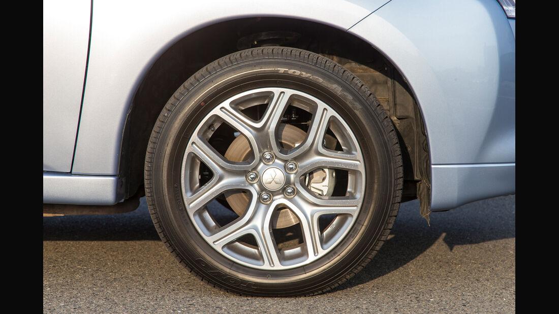 Mitsubishi Outlander PHEV, Rad, Felge
