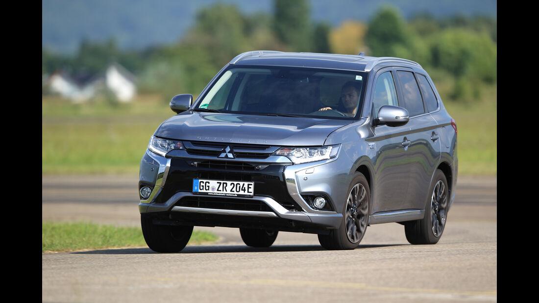 Mitsubishi Outlander Plug-in Hybrid, Frontansicht