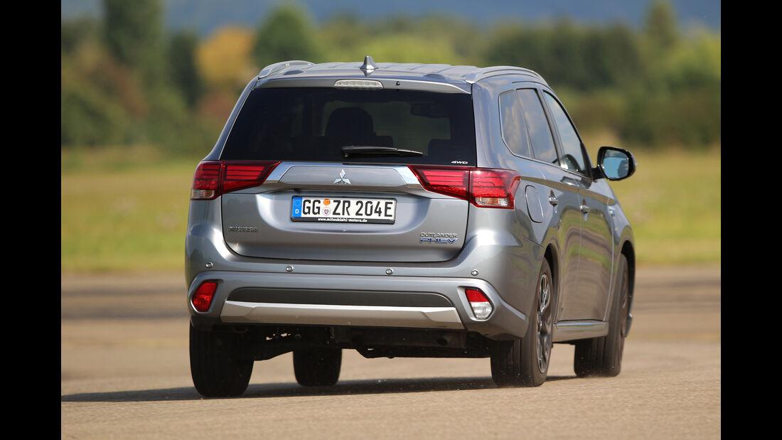 Mitsubishi Outlander Plug-in Hybrid, Heckansicht