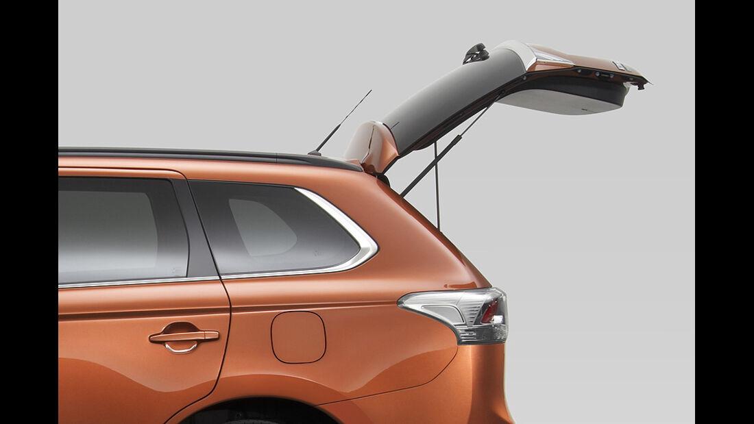 Mitsubishi Outlander SUV Genf 2012