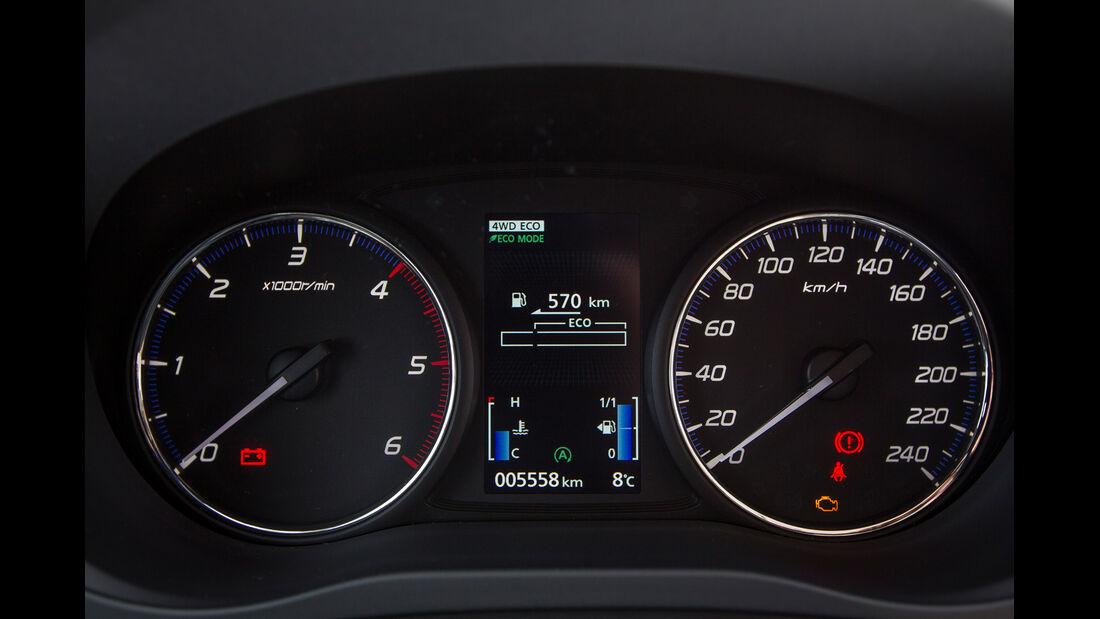Mitsubishi Outlander, Tacho, Rundinstrumente