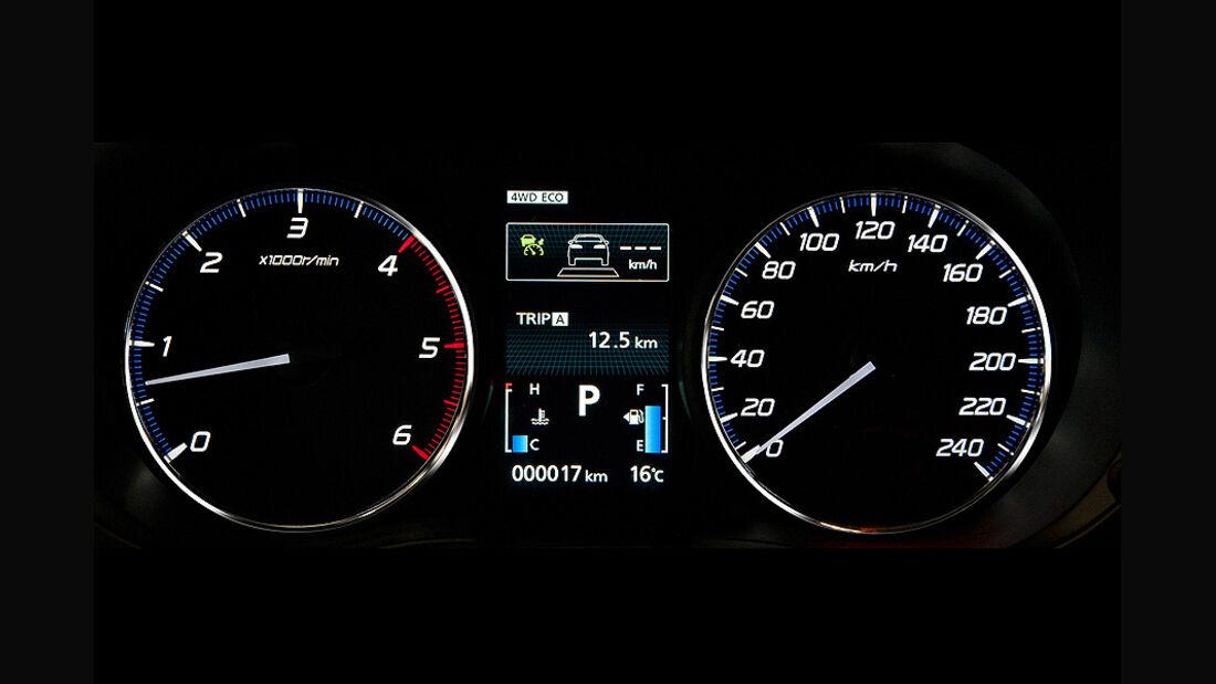 Mitsubishi Outlander Tacho SUV Genf 2012