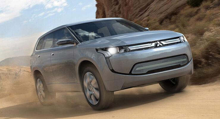 Mitsubishi PX-Miev Hybrid