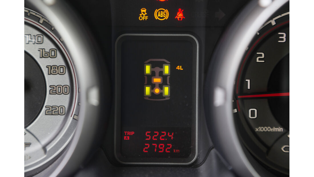 Mitsubishi Pajero 3.2 Di-D, Anzeige