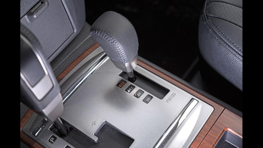 Mitsubishi Pajero 3.2 Di-D, Schalthebel