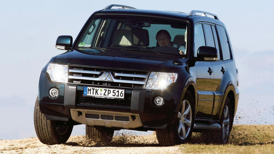 Mitsubishi Pajero, Frontansicht