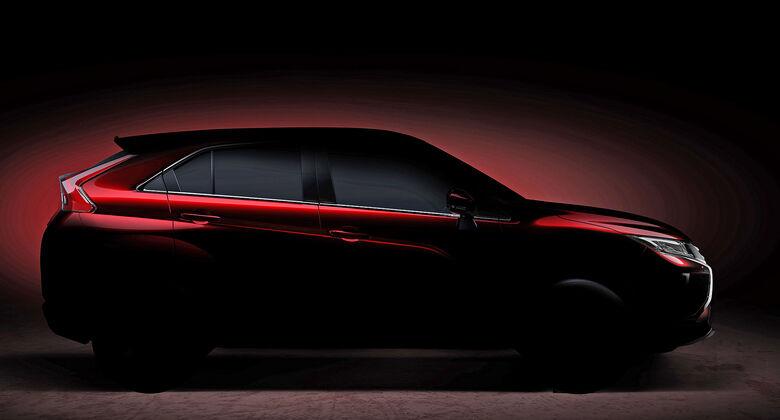 Mitsubishi SUV Teaser Genf 2017