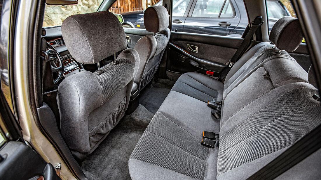 Mitsubishi Sigma 3.0 V6 Kombi, 1995, Detail, Innenraum