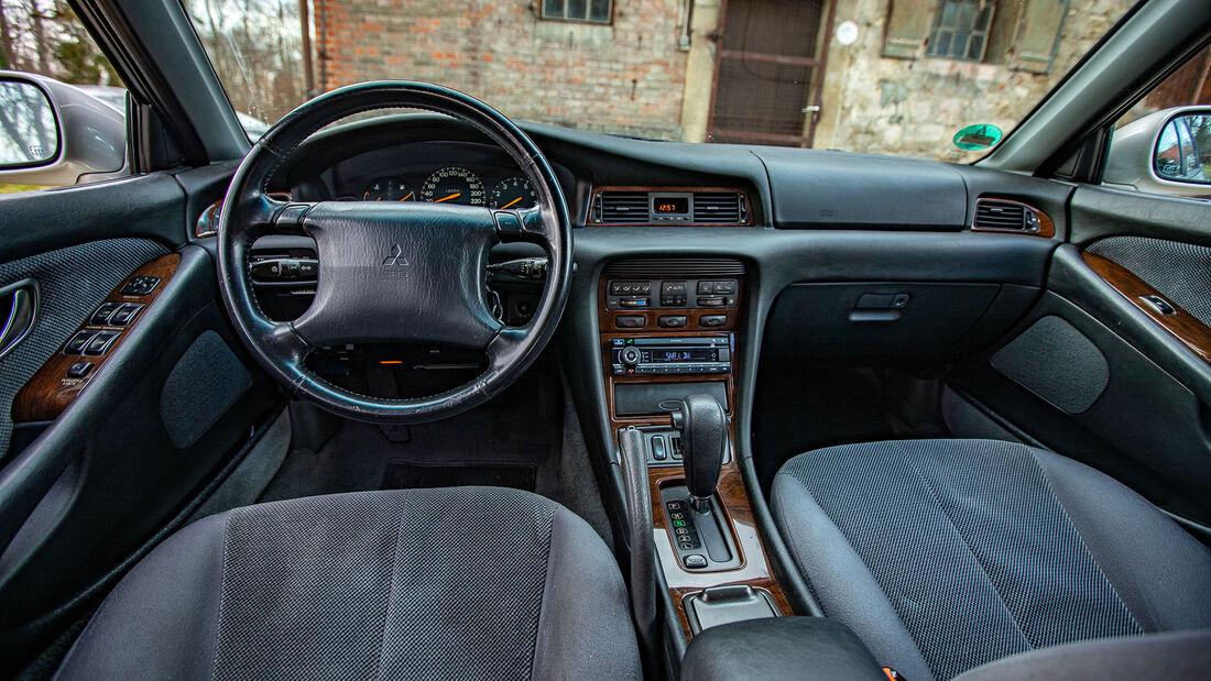 Mitsubishi Sigma 3.0 V6 Kombi, 1995, Innenraum