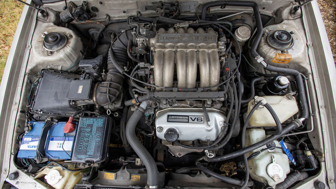 Mitsubishi Sigma 3.0 V6 Kombi, 1995, Motor