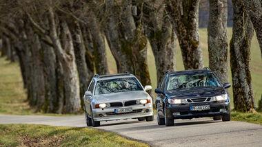 Mitsubishi Sigma 3.0 V6 Kombi, 1995, Saab 9-5 2.3t SportCombi, 1999