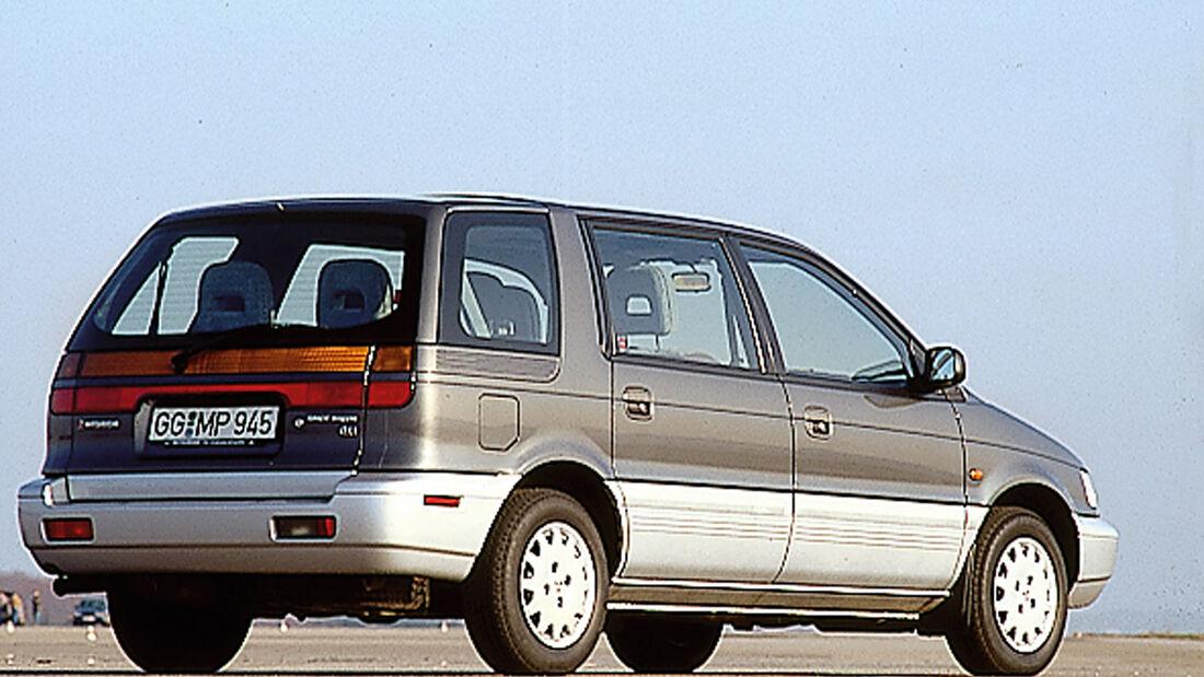 Mitsubishi Space Wagon, Seitenansicht