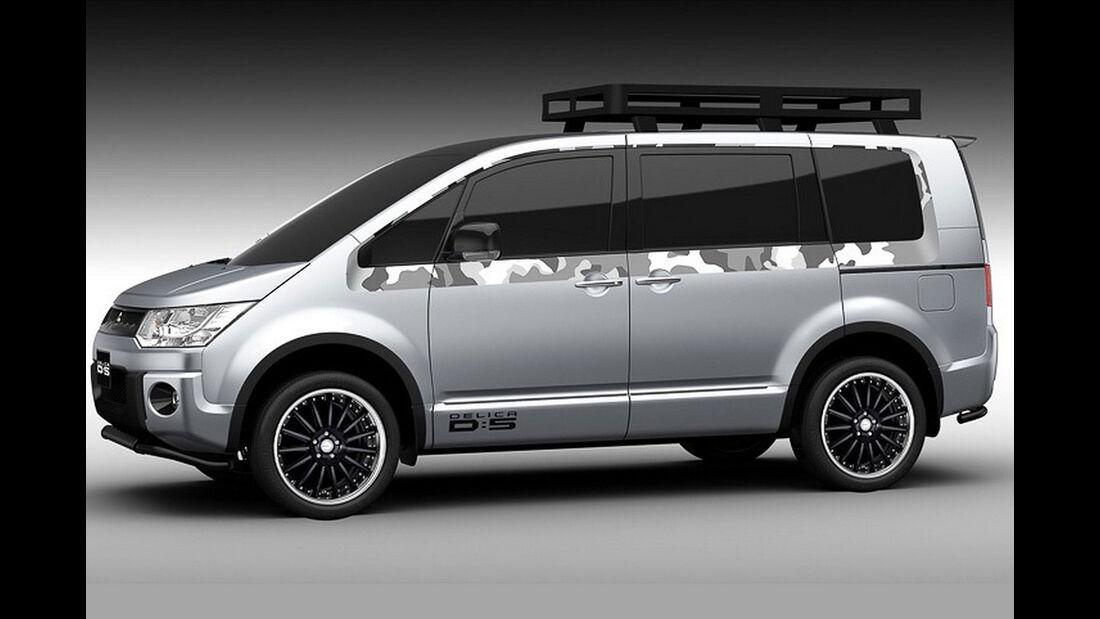 Mitsubishi Studien Tokyo Auto Salon 2016