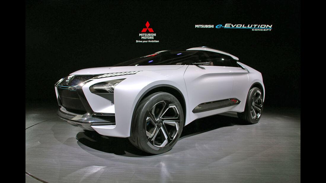 Mitsubishi e-Evolution Concept Tokio Motorshow 2017