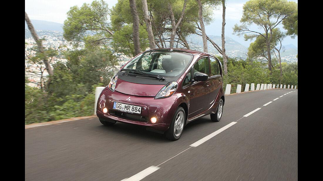 Mitsubishi i-Miev, Batterie, Elektroauto