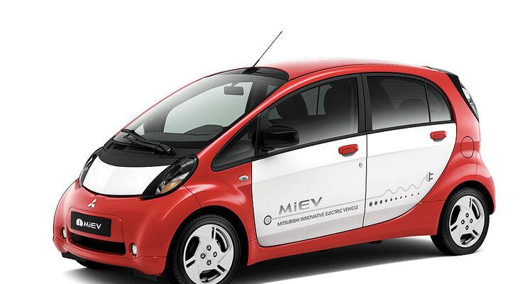 Mitsubishi i-Miev Europa-Version