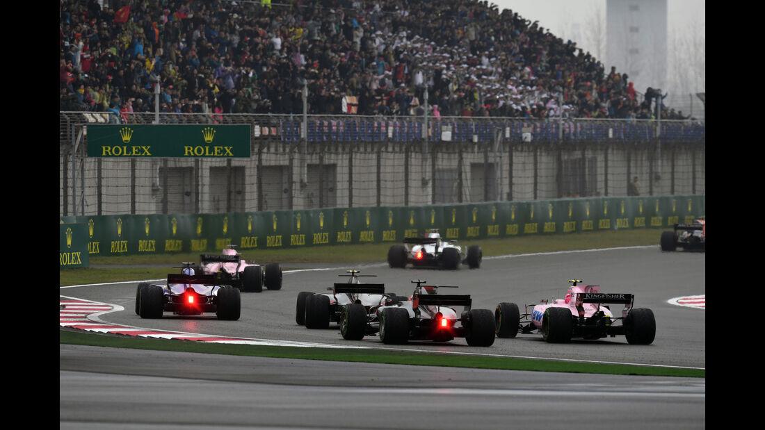 Mittelfeld - GP China 2017 - Shanghai - Rennen