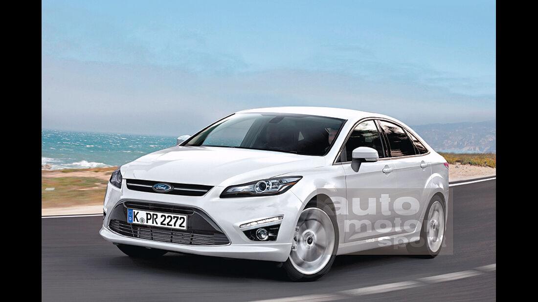 Mittelklasse-Limousine Ford Mondeo