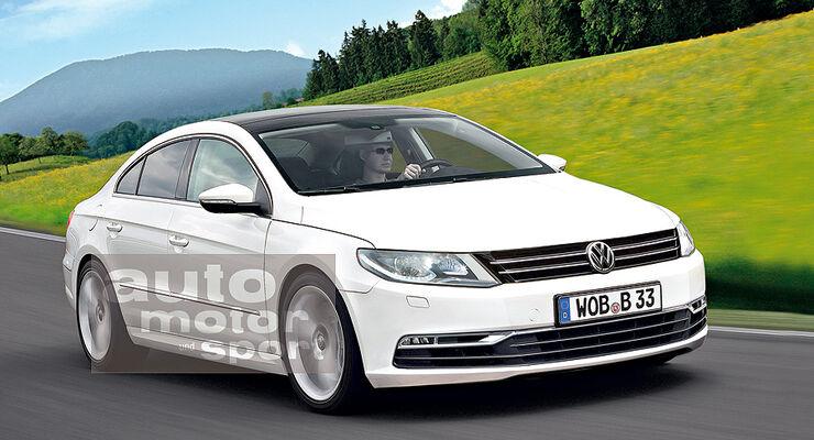 Mittelklasse-Limousine VW Passat CC