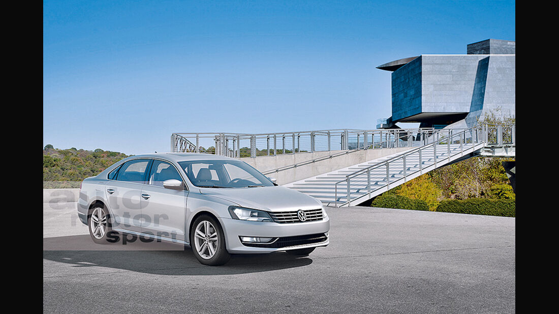 Mittelklasse-Limousine VW US-Passat