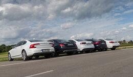 Mittelklasse-Limousinen, alle Fahrzeuge