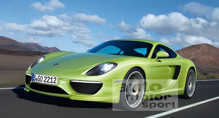 Mittelmotor Porsche