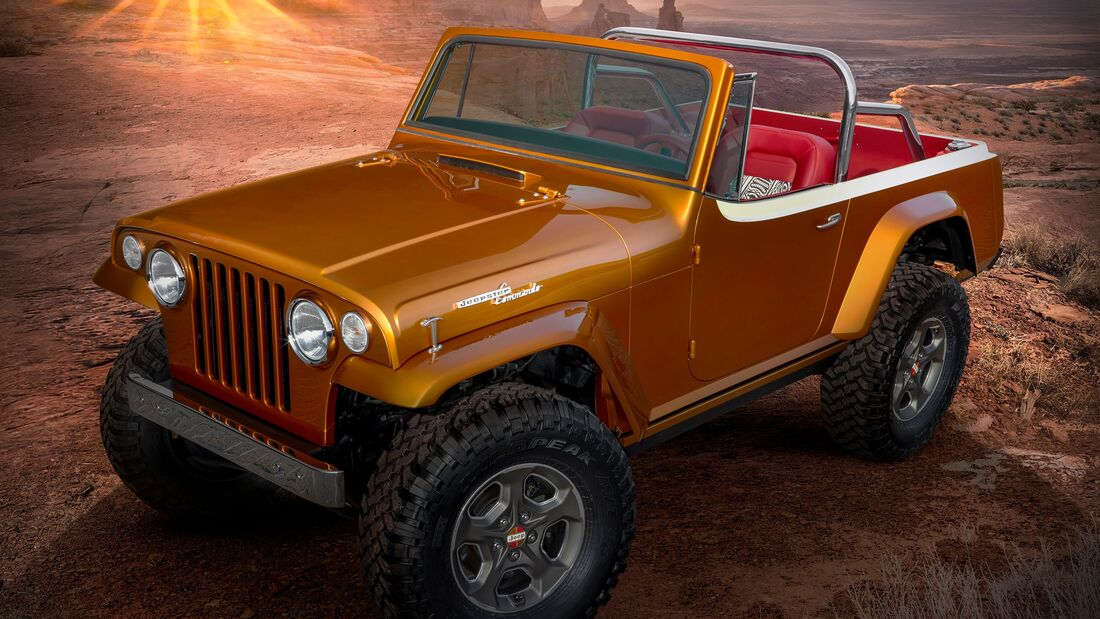 Moab Easter Jeep Safari 2021: Jeep Wrangler Jeepster Beach Concept