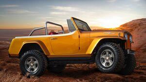 Moab Easter Jeep Safari 2021: Jeep Wrangler Jeepster Beach Concept